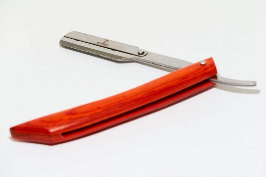 Navalha cabo de madeira - Big Barba