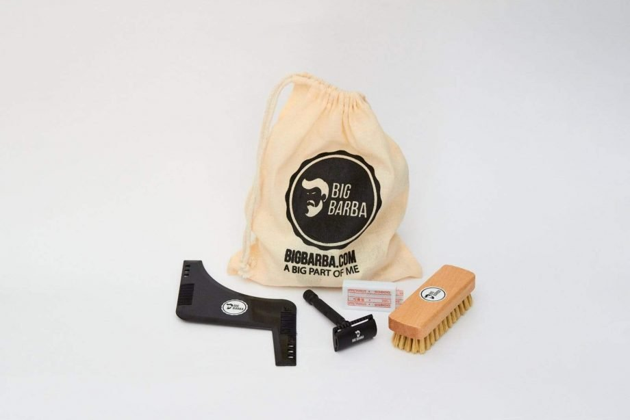 Kit - Gillette Preta - Big Barba
