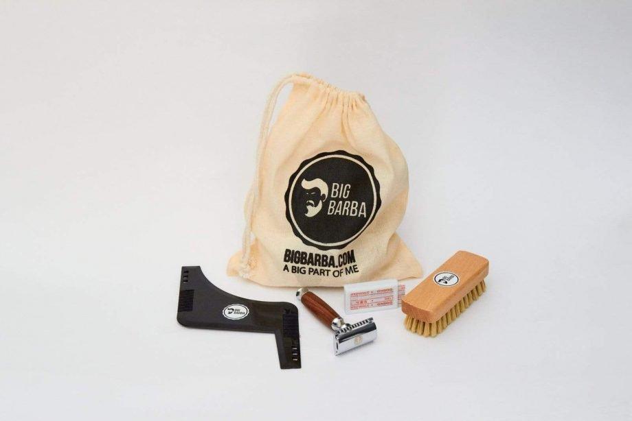 Kit - Gillette Cabo Madeira - Big Barba