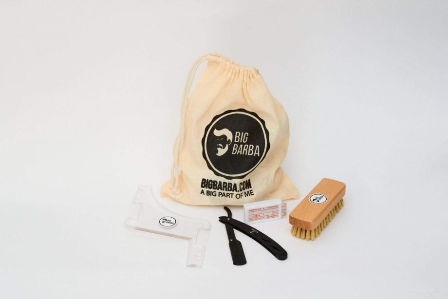 Kit - Navalha Preta - Big Barba